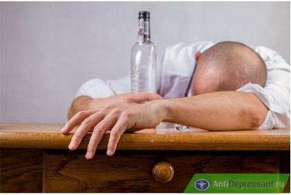 Амитриптилин можно ли принимать с алкоголем - последствия