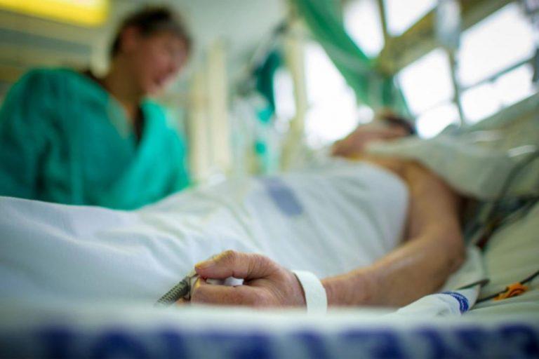 Пациент в реанимации