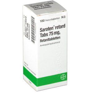 Упаковка Саротена