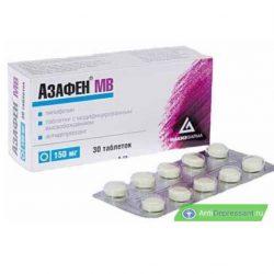 Таблетки Азафен инструкция по применению – аналоги – показания к применению – отзывы пациентов