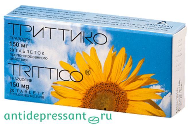 Таблетки Триттико инструкция по применению - аналоги - отзывы врачей - побочные эффекты
