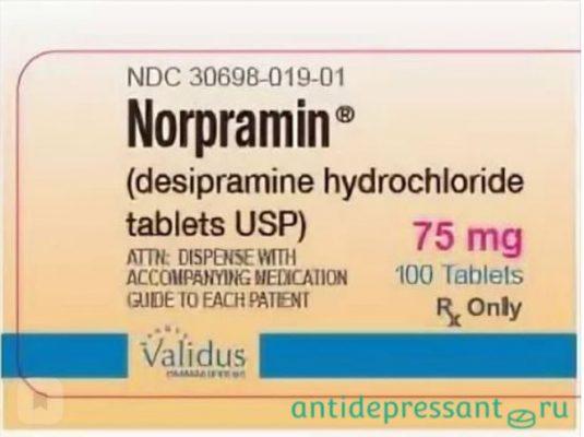 Норпрамин - аналоги - отзывы - побочные действия